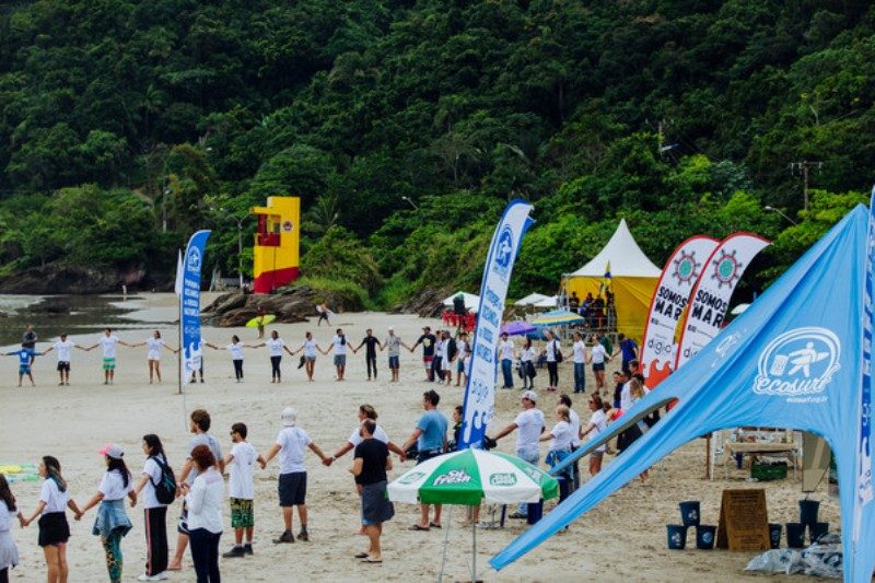 Leg 8, Itajai stopover. Surf Competition. 15 April, 2018.
